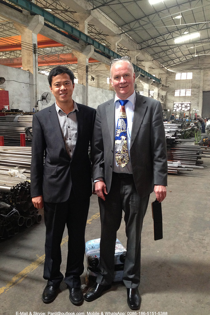Fangling Tube-Making Customers,; Pard Int'l limited customer