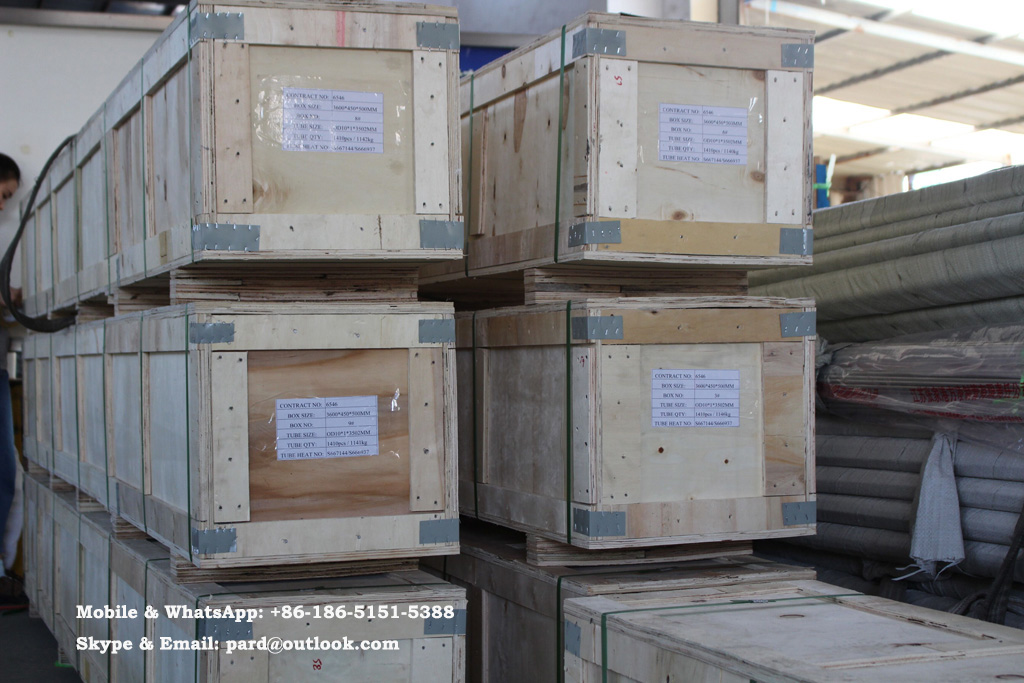 Fangling Tube-Making Plywood Crate Packing